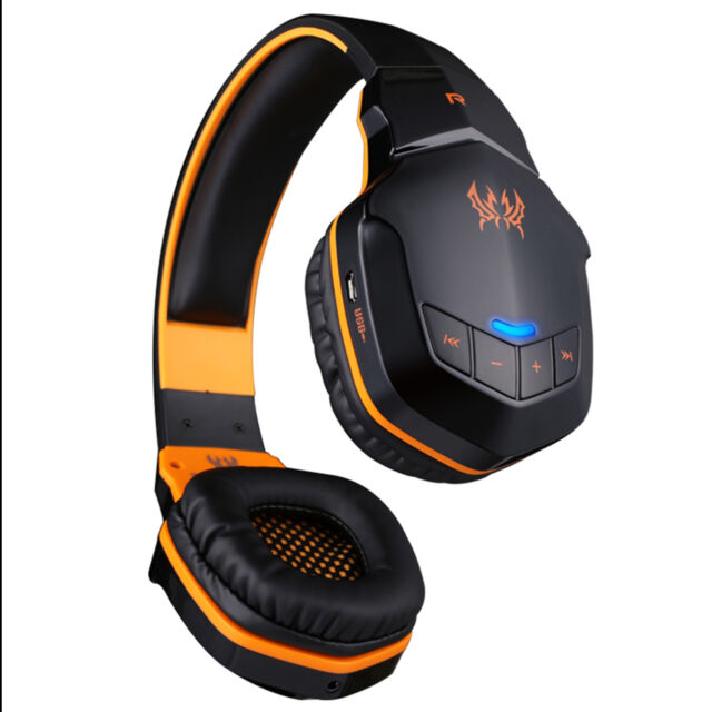 EACH Wireless Bluetooth Headphone Stereo Gaming Headset Mic NFC For Phone Tablet