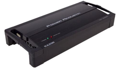 POWER ACOUSTIK RZ1-3500D 3500 WATT MONOBLOCK CLASS D CAR AMPLIFIER MONO SUB AMP