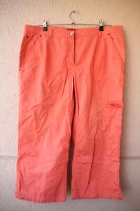 Orangene-Jeans-von-Samoon-Collection-Groesse-50