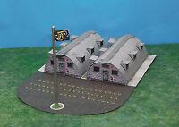 Military Quonset Hut Barracks N Scale Building Diy Paper Cutout Kit