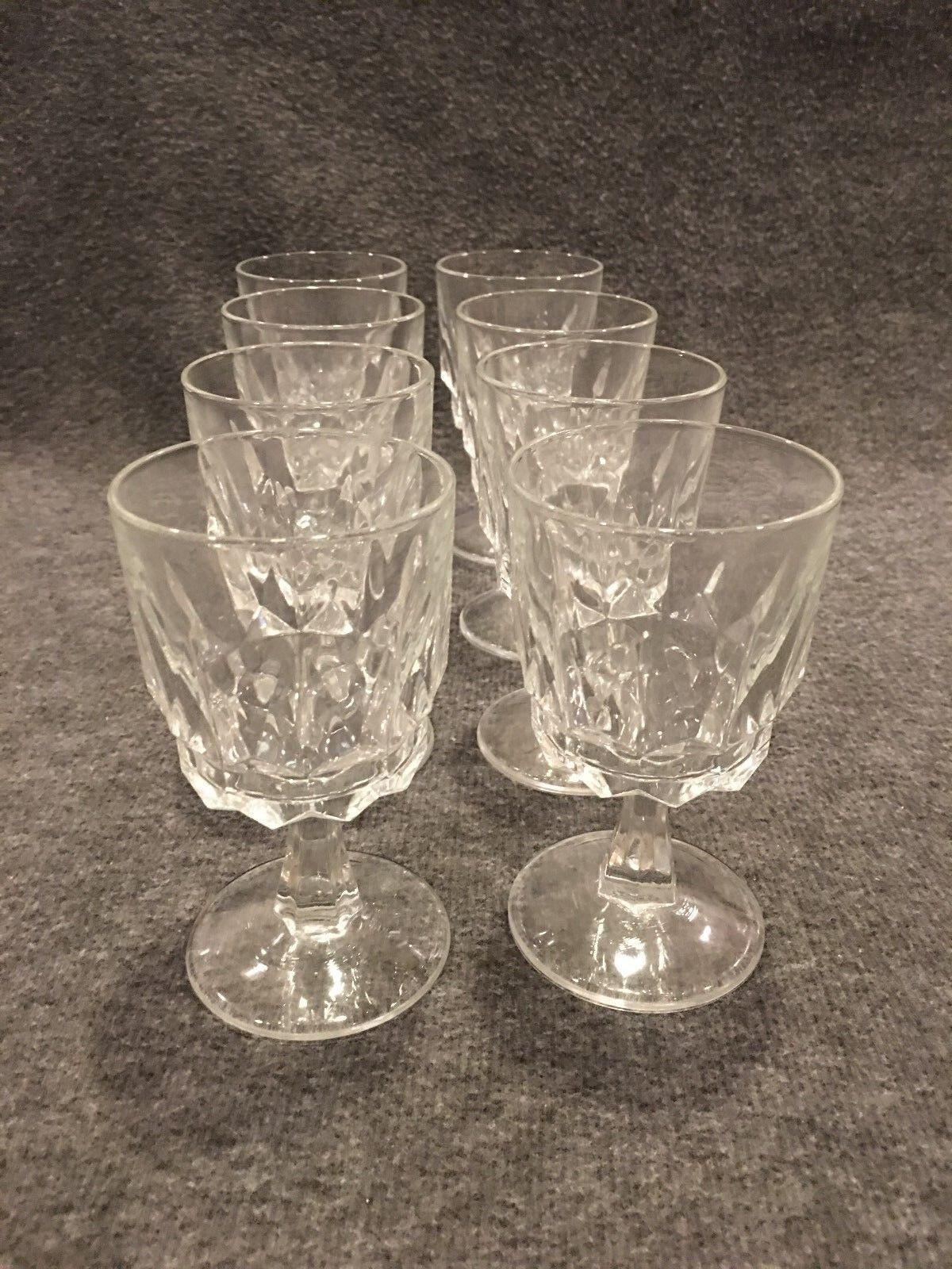 Stemmed Glasses Wine   Sherry 4.5 4.5 4.5 oz Set of 8 a4e253