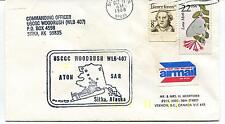 1988 Sitka Alaska Woodrush Commanding Officier Polar Antarctic Cover