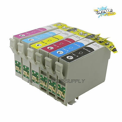 6PK New 78 T078  ink for Epson 78 STYLUS PHOTO R260 R280 R380 R580