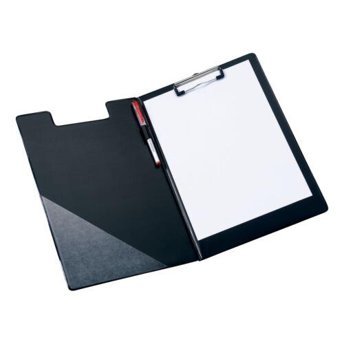 5 Star A4 Black Fold Over Clipboard