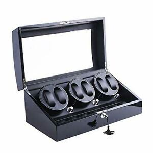 XTELARY Automatic Rotate Watch Winder 6+7 Leather Storage