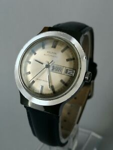 KELTON AUTOMATIC DAY-DATE montre ancienne vintage mouvement watch