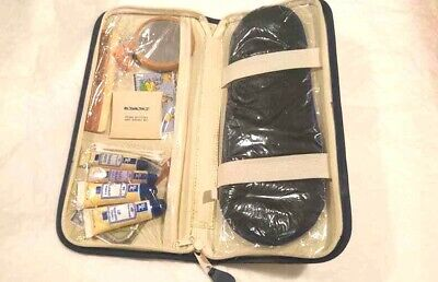 Vintage El Al Airline Business Class Inflight Amenity and Toiletry Kit