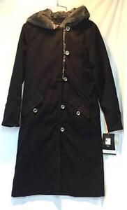 Small Nadia Size Coat Resort Black Length 3 Nils New Women 4 Snow Winter TBaSqq1xw