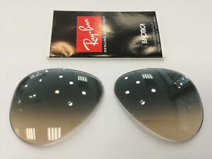LENSES-REPLACEMENT-RAY-BAN-RB8307-amp-RB3025-32-58-GREY-GRAD-LENS-LENTI