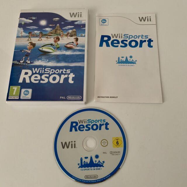 Wii Sports Resort (Boîtier DVD) - Nintendo Wii/Wii U-PAL 100% COMPLET Testé