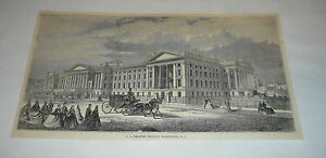 1878-magazine-engraving-US-TREASURY-BUILDING-Washington-DC