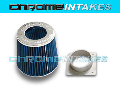 NEW AIR INTAKE FILTER ADAPTER KIT FOR 02 03 04 05 06 07 08 NISSAN MAXIMA BLUE