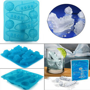Titanic-Shaped-Ice-Cube-Trays-Mold-Maker-Silicone-Party