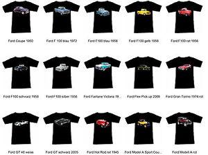 Camiseta-con-Ford-EEUU-Automovil-Teil-1-Fruit-Of-The-Loom-S-M-L-XL-2XL-3XL