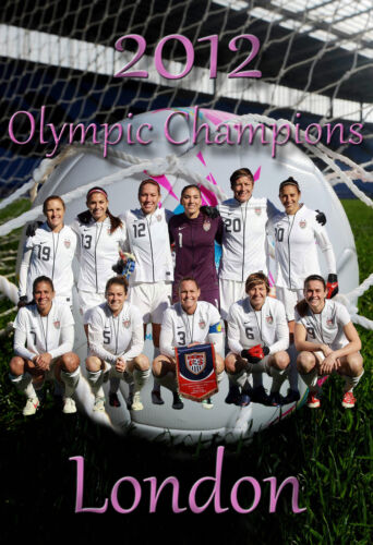 2012 Olympic Poster// United States//America Women/'s World Cup Soccer Team Poster.