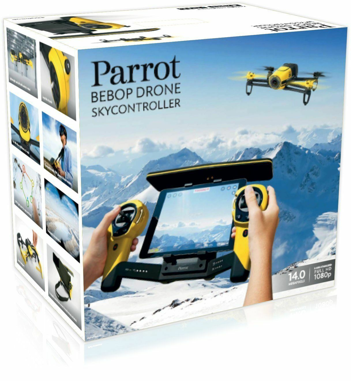 Parred Bebop Drone Yellow With Sky Controller BNIB