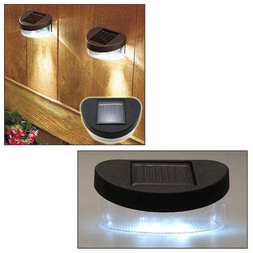 Lumière Lampe Solaire avec Capteur de Lumière 4 LED Lumineux Maison Jardin