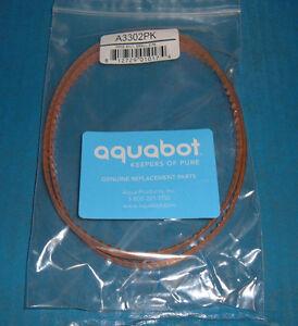 A3302pk Aqua Products Aquabot Drive Belts -1 Package (set Of 2 Belts) - Oem