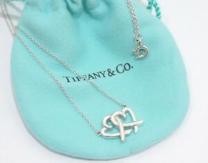 a9156d889 Image is loading Tiffany-amp-Co-Silver-Paloma-Picasso-Loving-Heart-