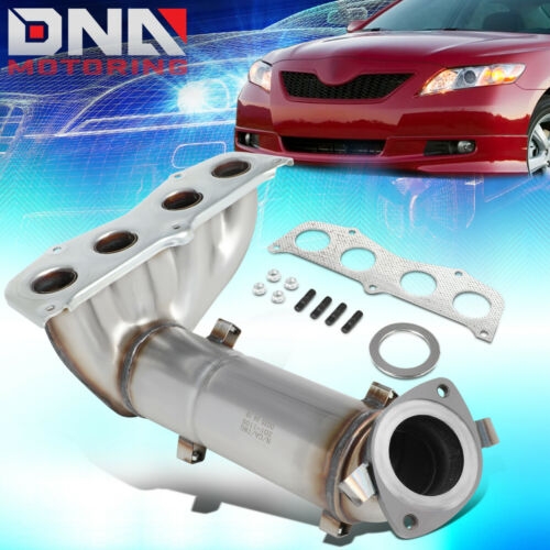 FOR 2002-2009 TOYOTA CAMRY 2.4L ENGINE PZEV CATALYTIC CONVERTER EXHAUST MANIFOLD