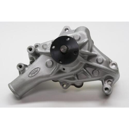 PRW Water Pump 1435001; High Performance Satin Aluminum Mechanical for Chevy SBC