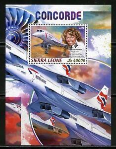 Sierra-Leone-2018-Concorde-SOUVENIR-SHEET-Comme-neuf-jamais-a-charniere
