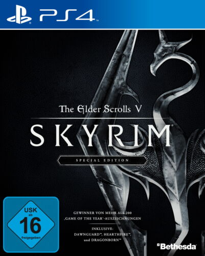 1 von 1 - The Elder Scrolls V - Skyrim Special Edition Sony PlayStation 4 2016 NEU in OVP