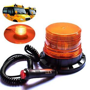 Car-Flashing-Magnetic-Beacon-Lamp-40-LED-Amber-Recovery-Warning-Strobe-Light