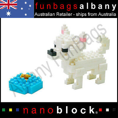 CHIHUAHUA Dog Nanoblock KAWADA Building Blocks Nano Block Dogs