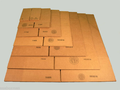 4 X 4 X 4 HEAVY DUTY BOXES SHIPPING STORAGE 25 AAABOXMAN FREE SHIPPING!