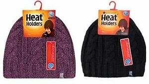 08a5f5279a1df Image is loading Heat-Holders-Ladies-Thermal-Hat