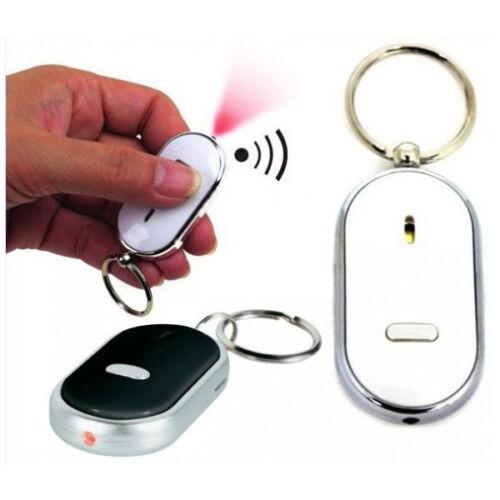 Finder Sonoro Key Un Con Trovachiavi Fischio Portachiavi Luce Led Distanza 5 MTw