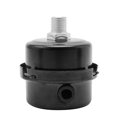 "1//2/"" Thread Metal Air Compressor Intake Filter Noise Muffler Silencer 12 FOHCUK."