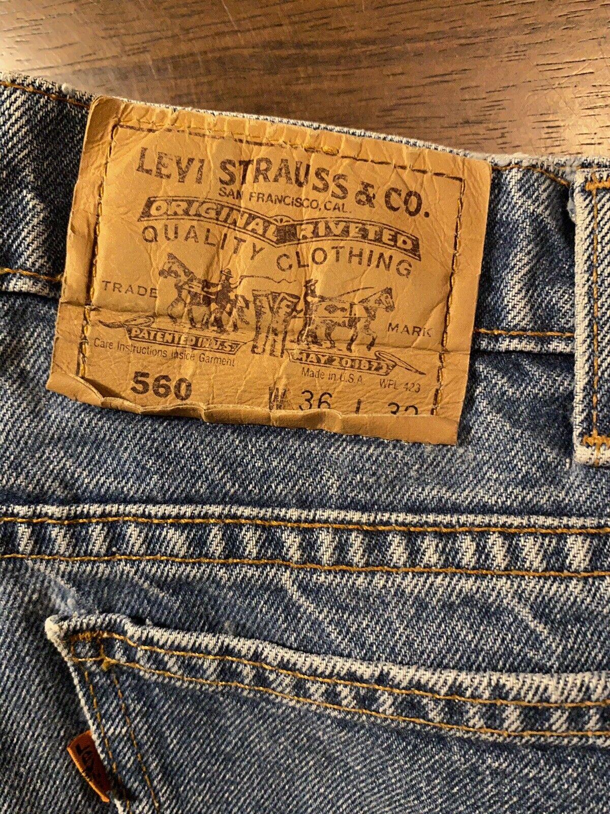 Vintage Levis (Orange Tab) Made In USA - image 2