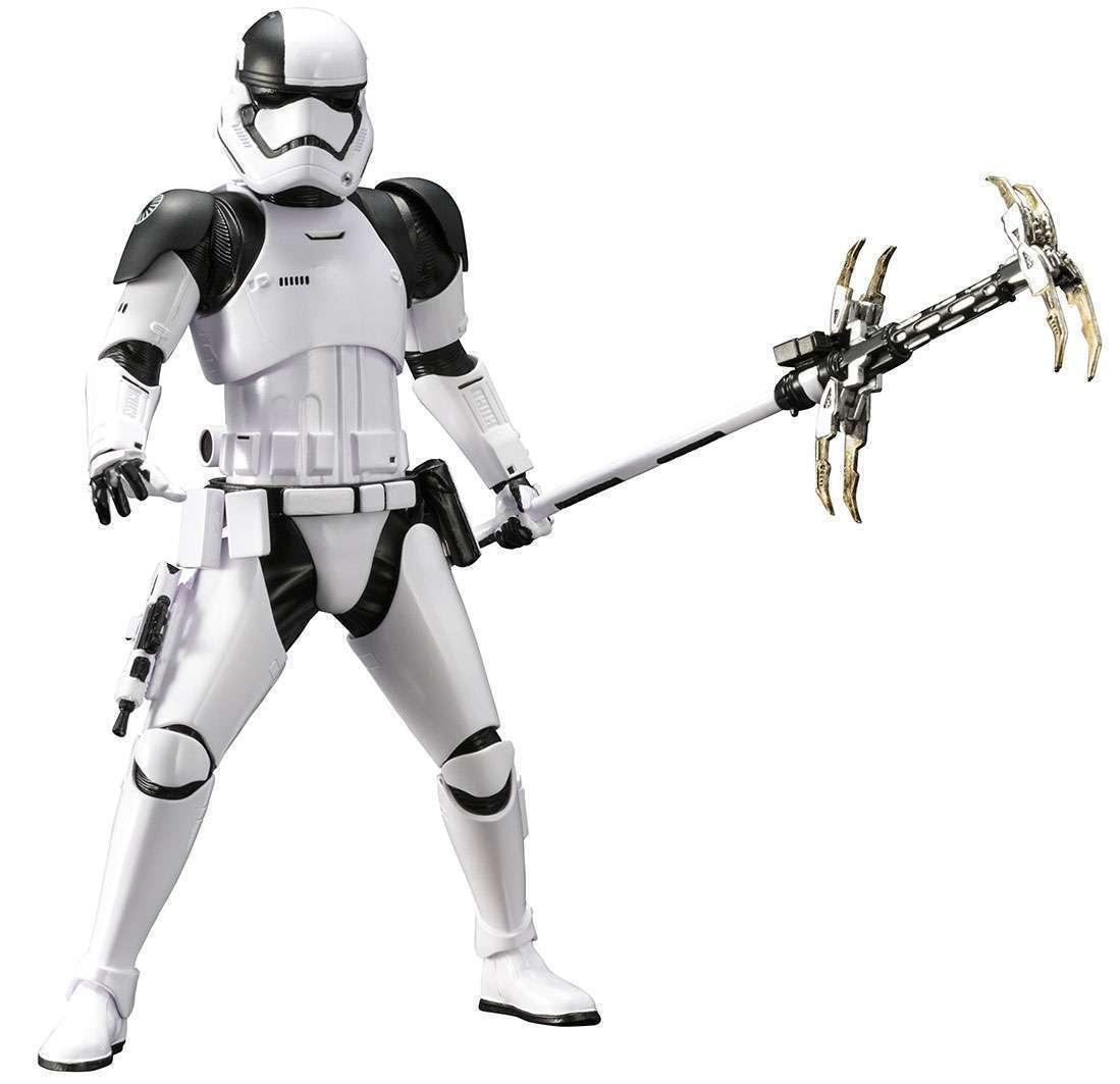 descuento online Primer orden Stormtrooper Stormtrooper Stormtrooper Verdugo (Guerra de las Galaxias La última Jedi) Kotobukiya Arte..  colores increíbles