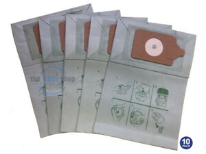 10-x-NUMATIC-HETTY-hoover-Vacuum-Cleaner-Double-Layer-Filtration-Dust-Bags