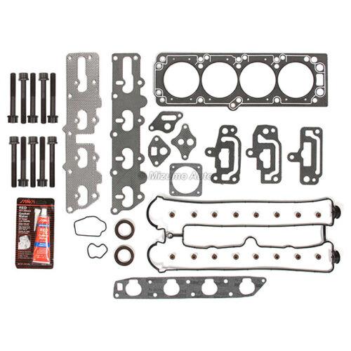 Head Gasket Set Intake Exhaust Valves Fit 99-08 Isuzu Suzuki 2.2L X22SE A20DMS
