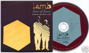 LAMB-Fear-Of-Fours-1999-UK-14-trk-promo-CD-card-sleeve