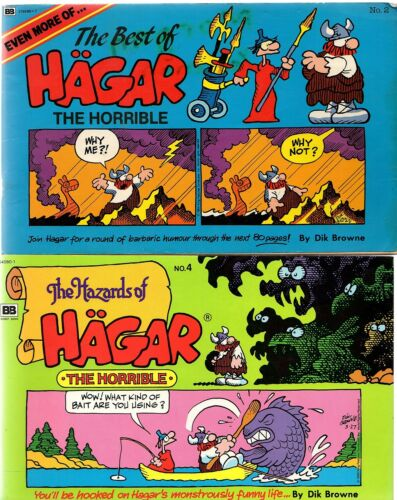 1 of 1 - EVEN MORE OF THE BEST OF & THE HAZARDS OF HAGAR THE HORRIBLE #2 & #4 (PB; 1986)