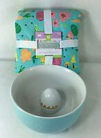 Lot Easter Candy Bowl Figural Egg Inside & Tablecloth 60 X 84 Target Threshold