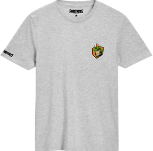 New FORTNITE Boys Girls Rex Battle Star Design Logo T-shirt Kids Gift Gaming