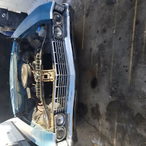 1967 Chevy Caprice big block 396 Turbo 400 many new parts