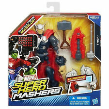 """Marvel Super Hero Mashers Collection__THOR 6 """" action figure with Hammer Missile"""