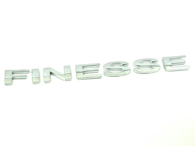 Genuine New FORD FINESSE BOOT BADGE Rear Emblem For Fiesta Mk5 2002-2008 1.2 1.4