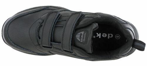 Dek Hommes Décontracté Baskets Cuir Léger Toucher /& Lacets Fixer Chaussures