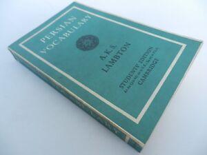 PERSIAN-VOCABULARY-Lambton-1969-Cambridge-students-edition