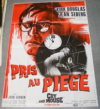Affiche de cinéma : PRIS AU PIEGE - CAT AND MOUSE de DANIEL PETRIE