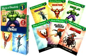 World of Reading Avengers Boxed Set Level 1