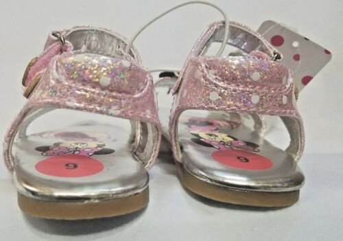 NEW NWT Baby or Toddler Disney Minnie Mouse Sandals Size 9