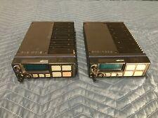 Lot Of 2 Ma Com Macom M7100 Ip Mobile Radios